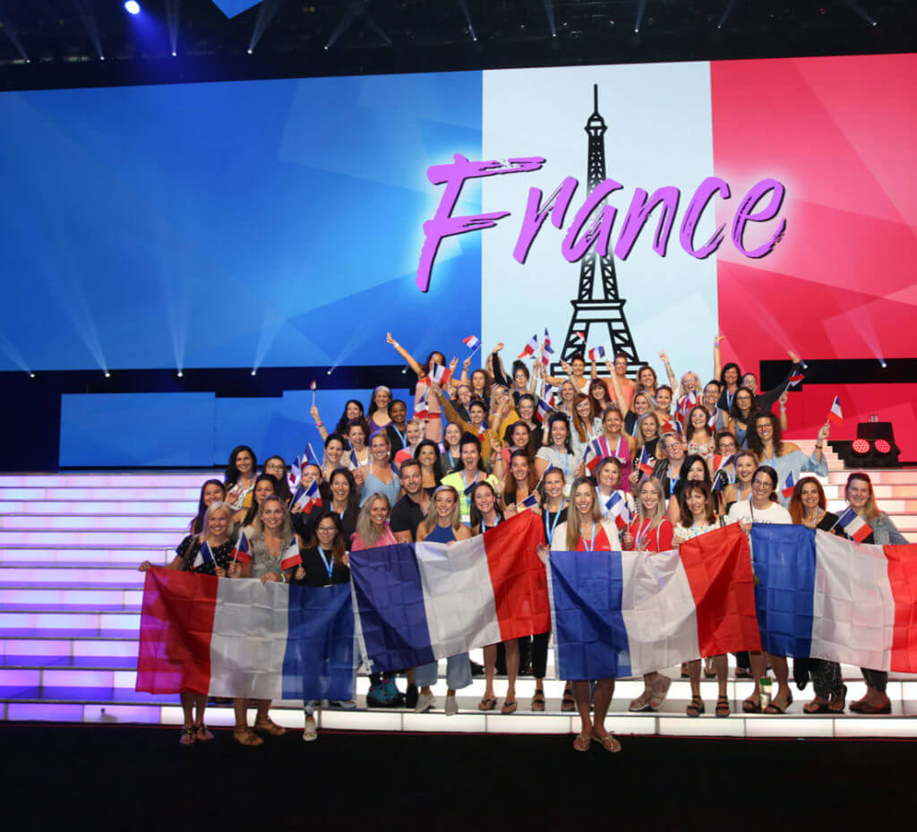 Team in France